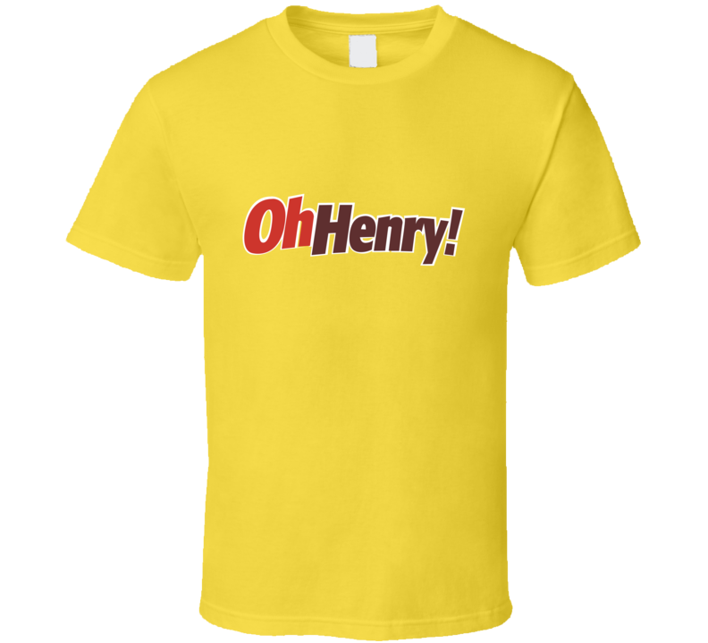 Oh Henry Chocolate Bar Logo Halloween Costume T Shirt