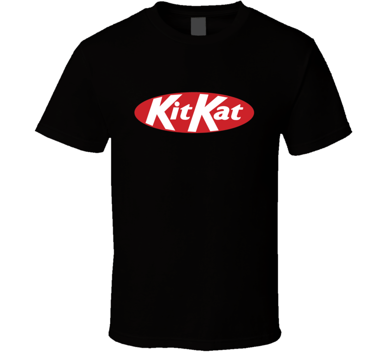 Kit Kat Chocolate Bar Logo Halloween Costume T Shirt