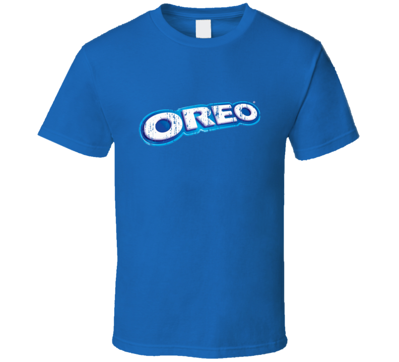 Oreo Cookies Distressed Logo Halloween Costume T Shirt
