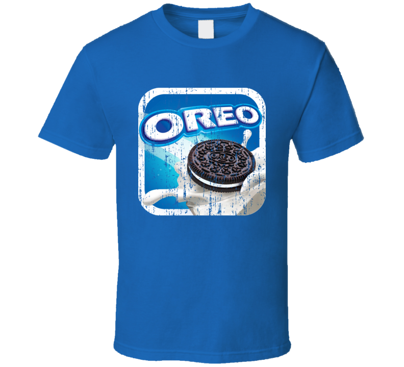 Oreos Cookies Logo Aged Package Halloween Costume T Shirt