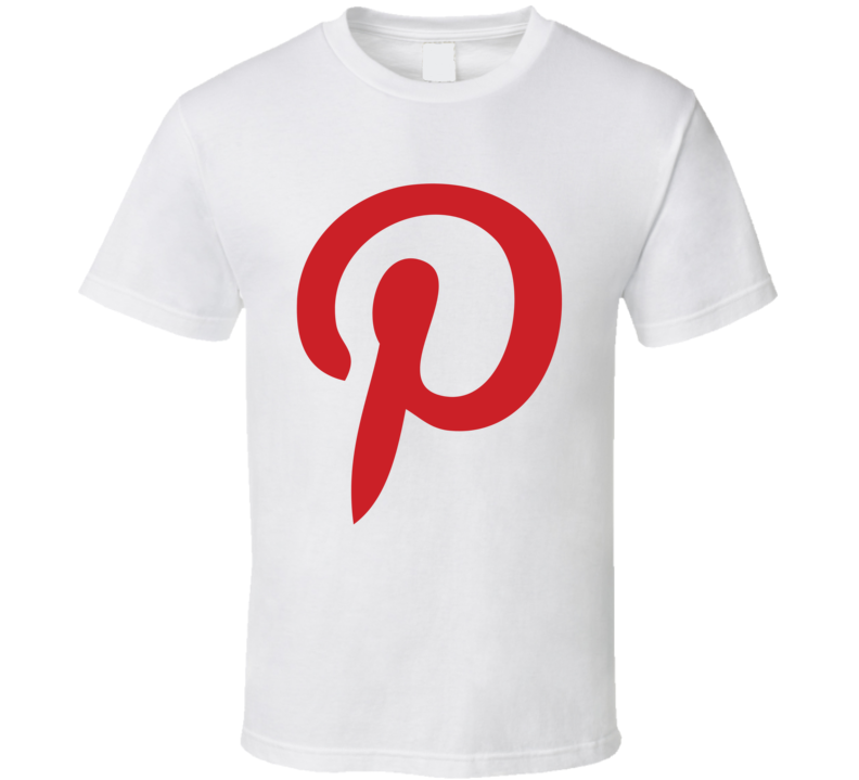 Pinterest Logo Social Media Halloween Costume T Shirt