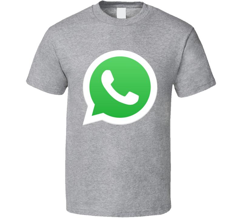 Whatsapp Whats App Social Media Logo Halloween Costume T Shirt