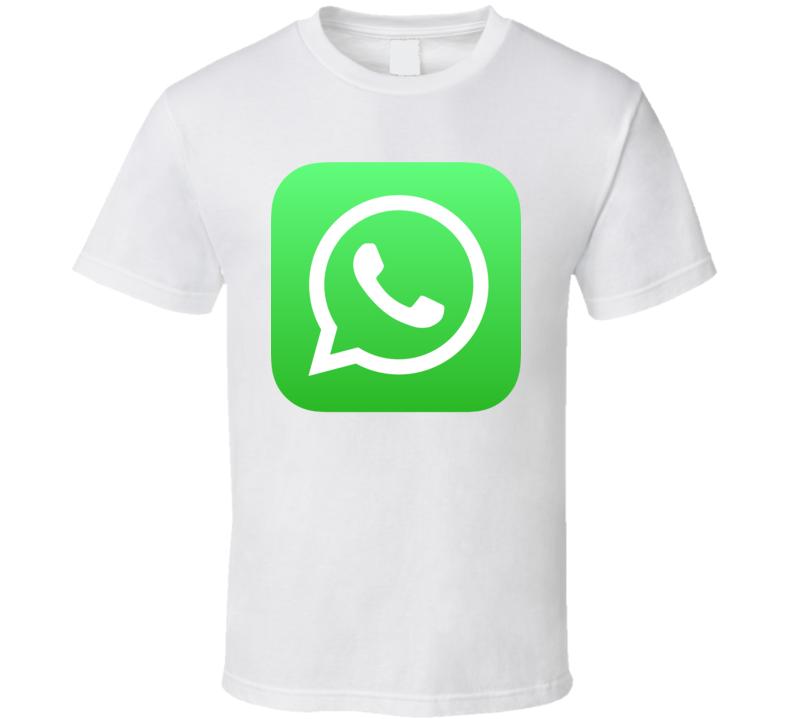 Whatsapp Whats App Logo Social Media Halloween Costume T Shirt