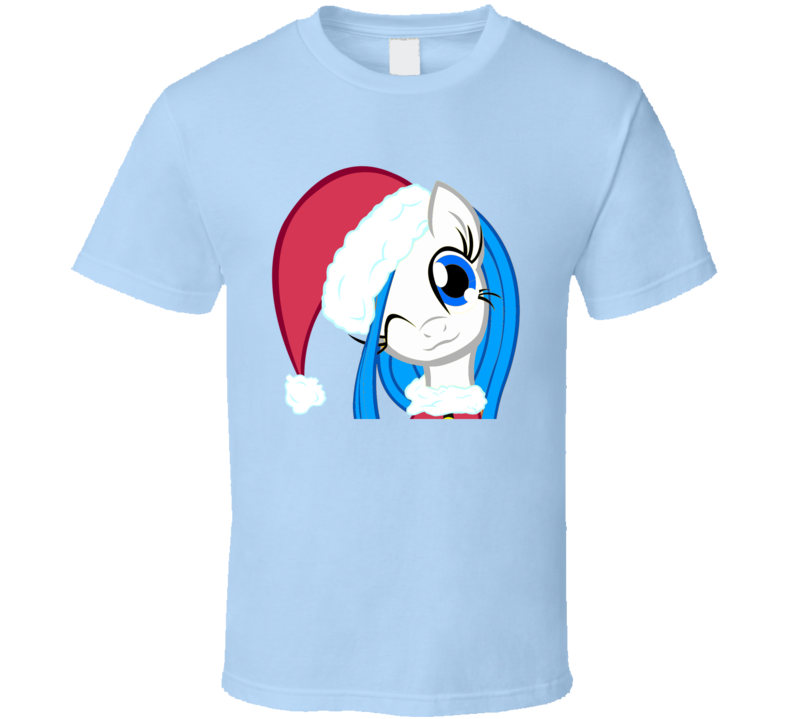 My Little Pony Santa Hat Christmas Brony Funny T Shirt