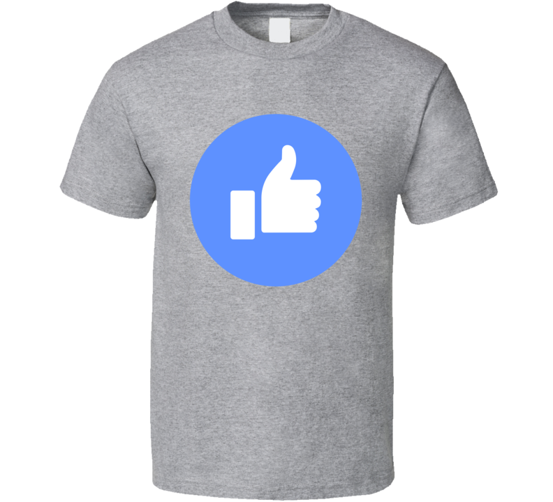 Like Symbol Facebook Social Media Halloween Costume T Shirt