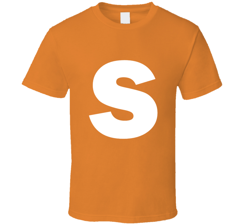 Skittles Candy Logo Orange Halloween Costume T Shirt