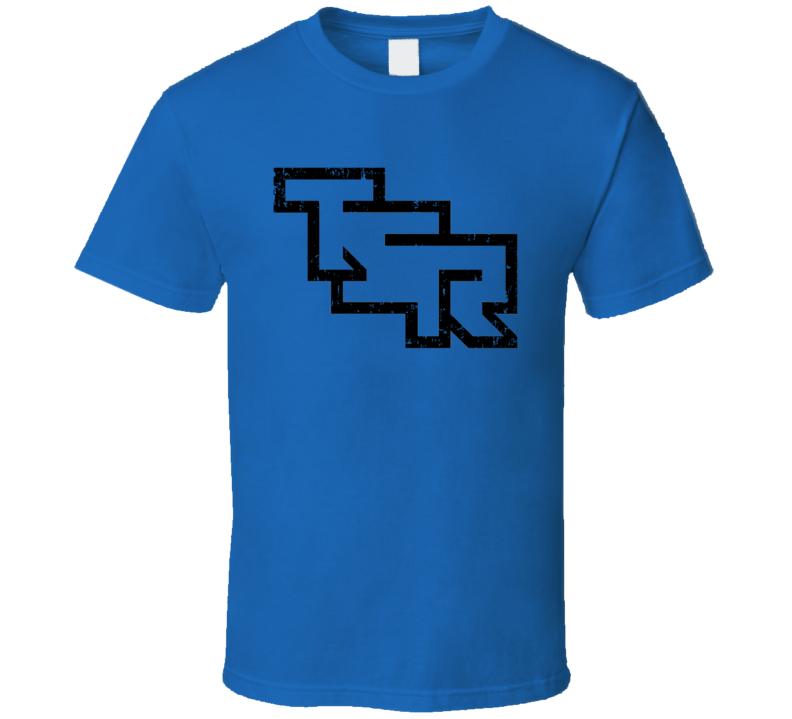 Tsr Logo Retro Games Company D&d Halloween Costume Aged T Shirt