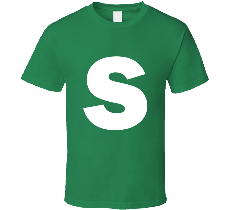 Skittles Candy Logo Green Apple Lime Halloween Costume T Shirt
