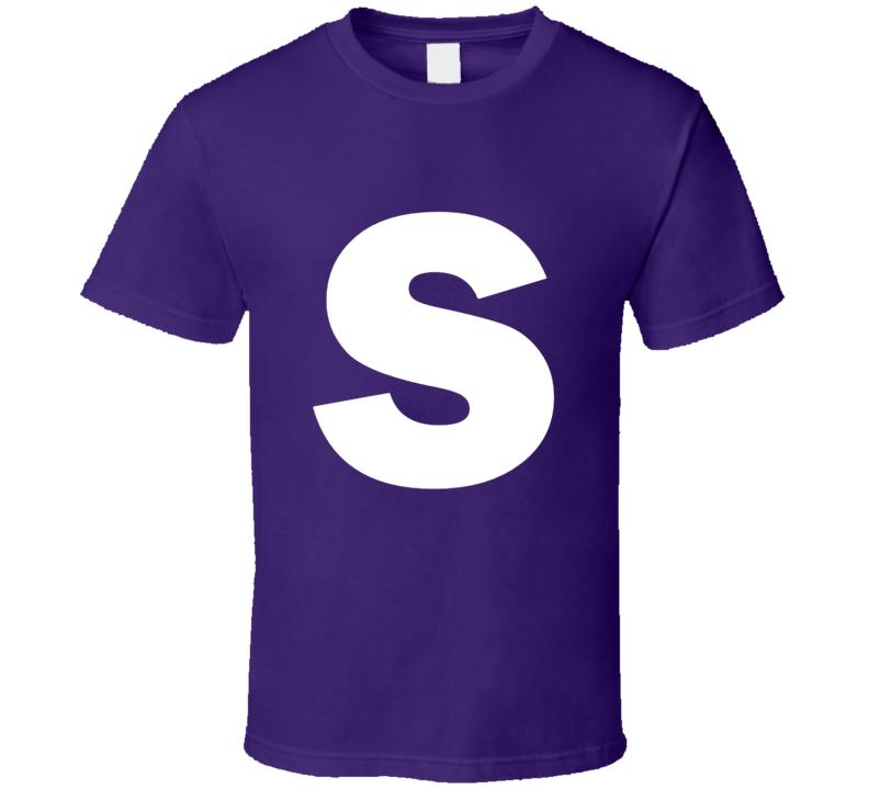 Skittles Candy Logo Purple Grape Halloween Costume T Shirt