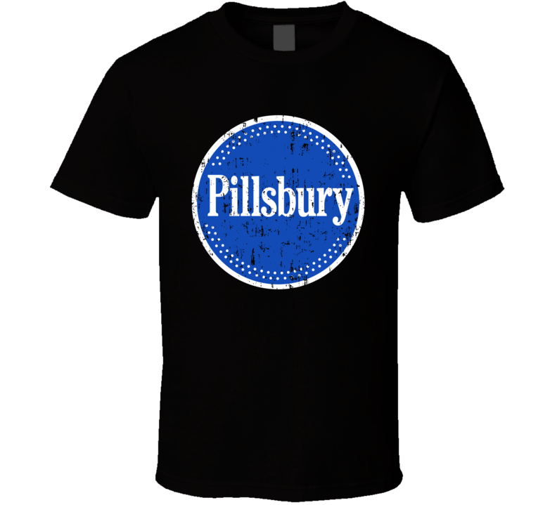 Pillsbury Logo Baking Dessert Halloween Costume Aged T Shirt