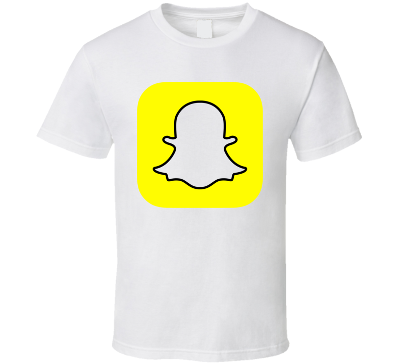 Snapchat Social Media Logo Halloween Costume T Shirt