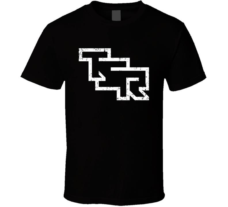 Tsr Retro Logo Games Company D&d Halloween Costume Aged T Shirt
