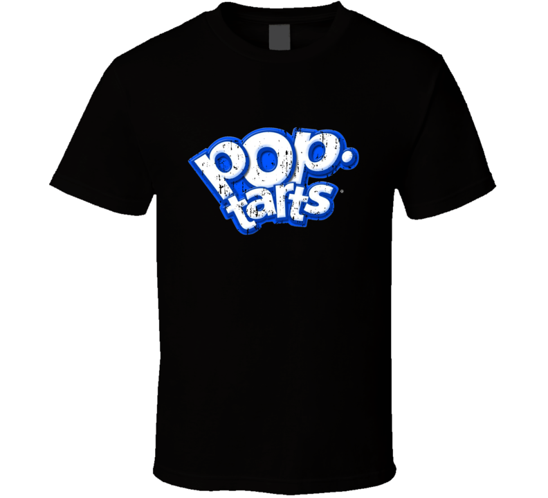 Pop Tarts Logo Breakfast Dessert Halloween Costume Aged T Shirt