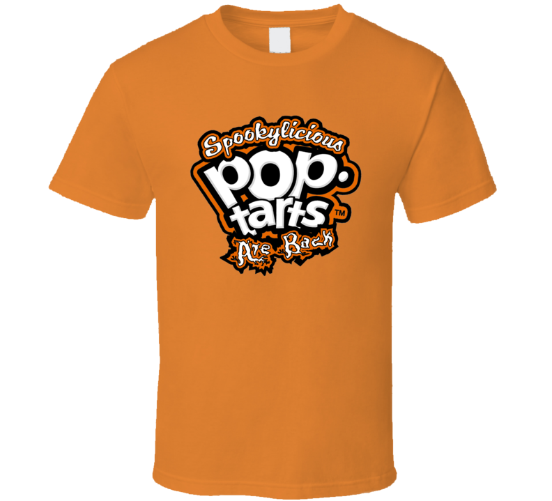 Pop Tarts Spooky Logo Breakfast Dessert Halloween Costume T Shirt