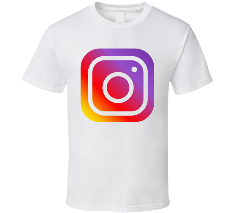 Instagram Social Media Logo Halloween Costume T Shirt