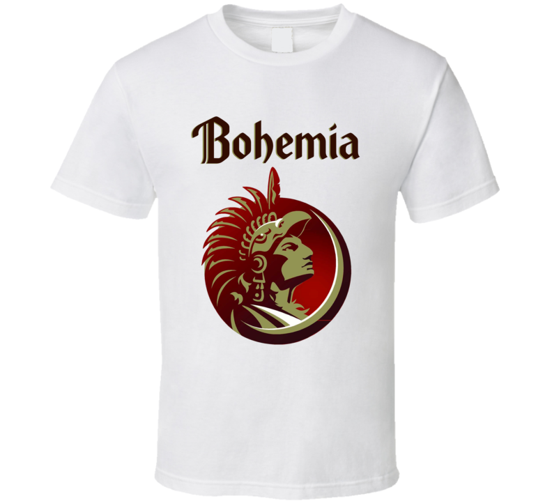 Bohemia Beer Logo Halloween Costume T Shirt