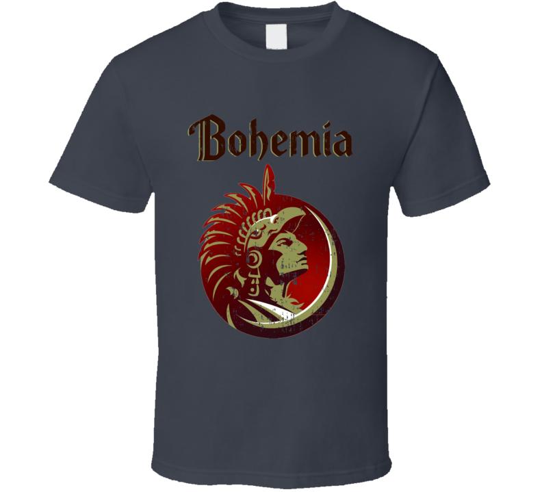 Bohemia Beer Logo Halloween Costume Aged T Shirt