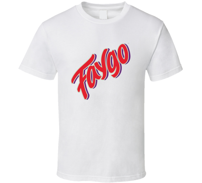 Faygo Soda Pop Logo Halloween Costume T Shirt