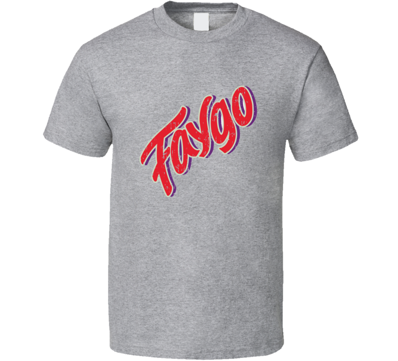 Faygo Soda Pop Logo Halloween Costume Aged T Shirt