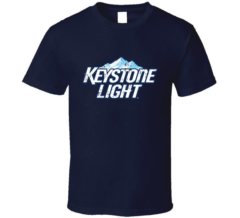Keystone Light Beer Logo Halloween Costume Aged T Shirt