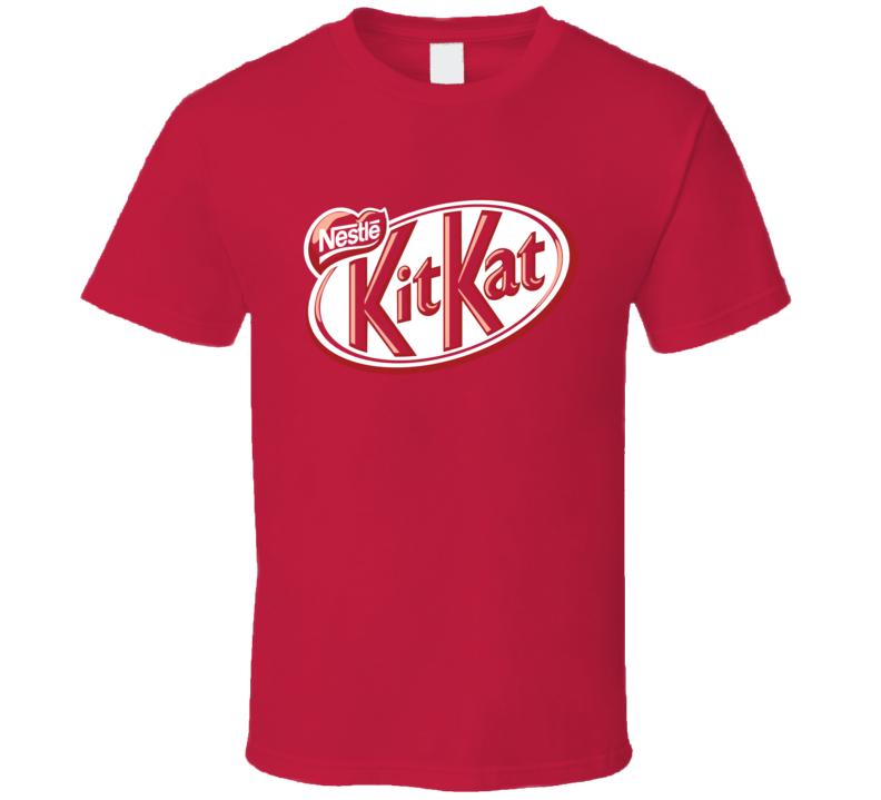 Chocolate Bar Logo Halloween Costume Red T Shirt