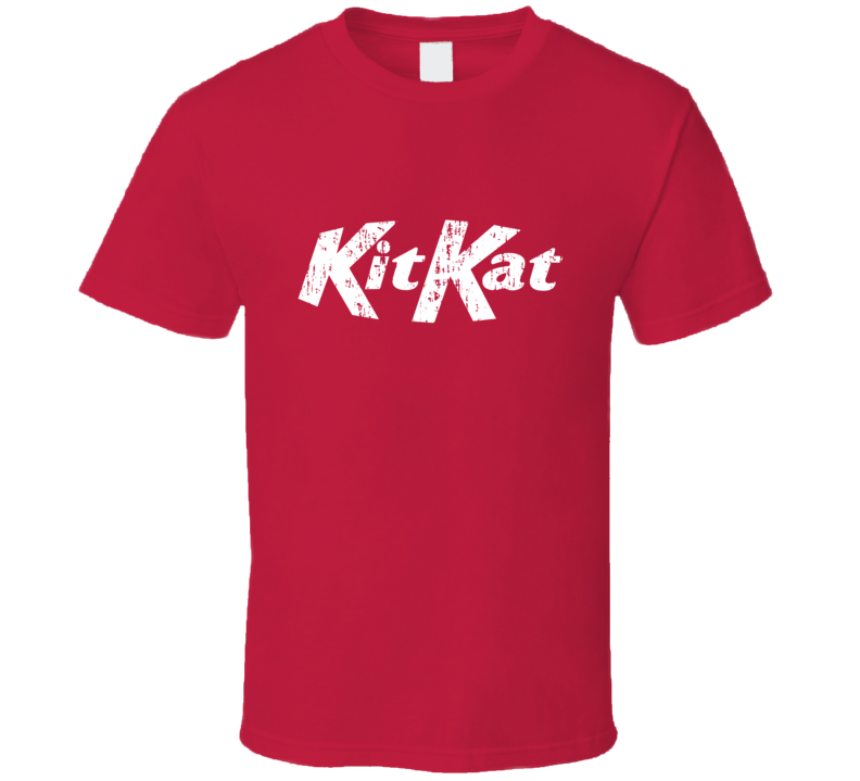 Chocolate Bar Logo Halloween Costume Aged Red T Shirt