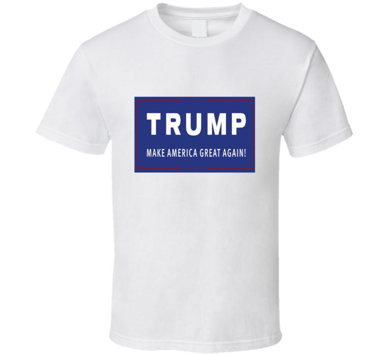 Donald Trump Make America Great Again President Election 2016 T Shirt