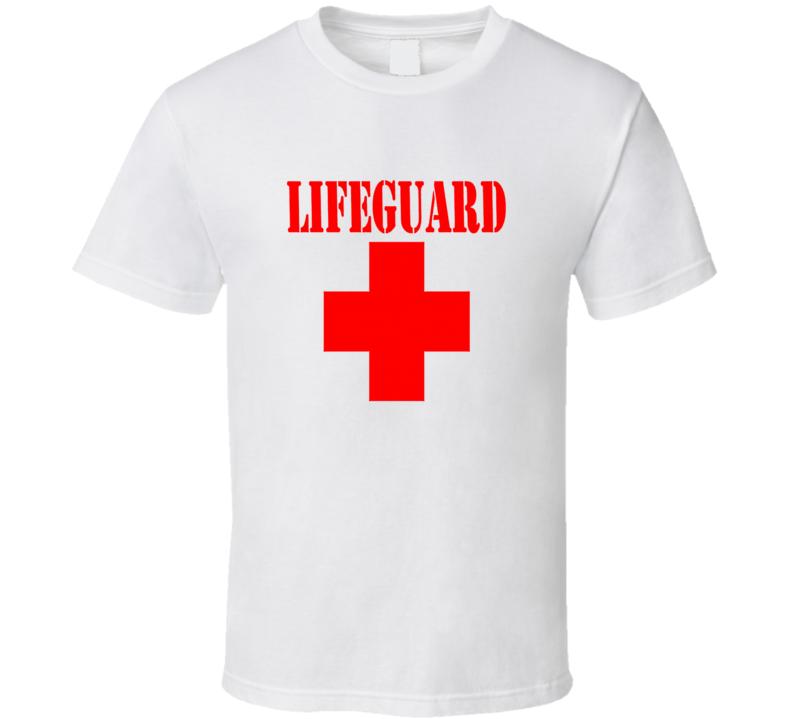 Lifeguard Halloween Costume T Shirt