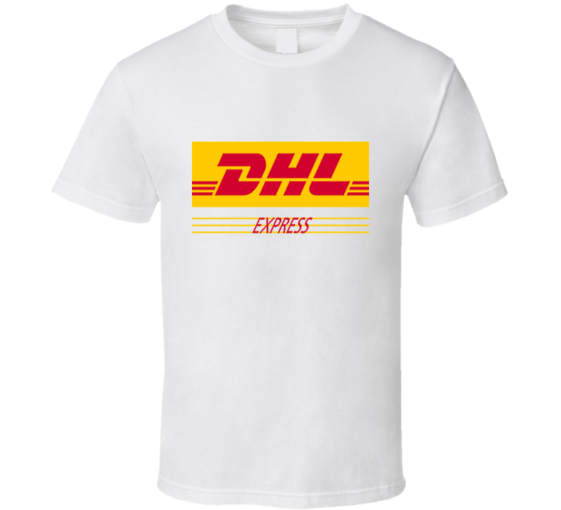 DHL Express Delivery Man Halloween Costume T Shirt