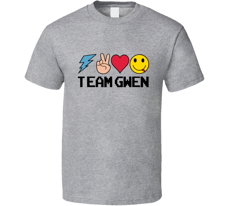Team Gwen Emoji Gwen Stefani The Voice Contestant T Shirt