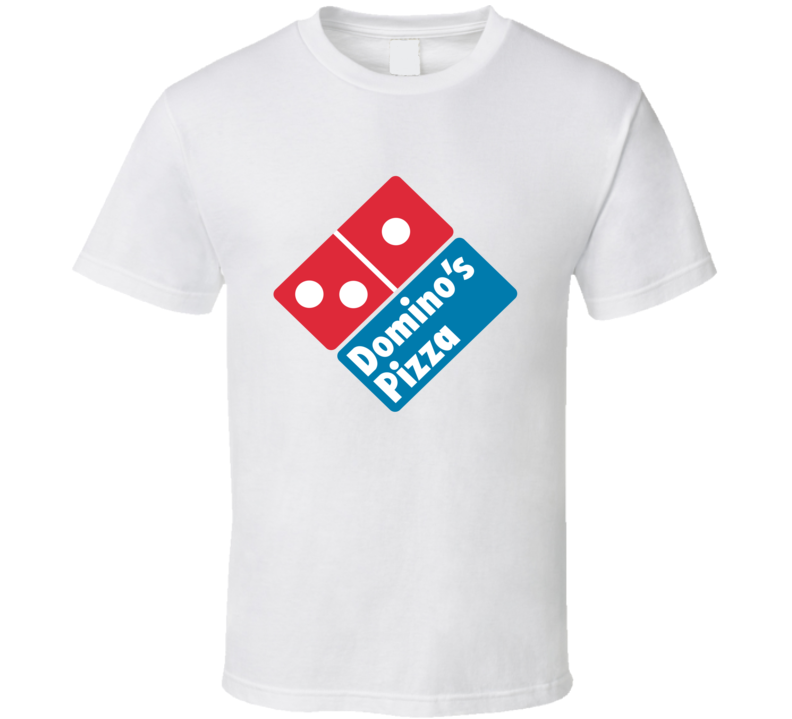 Domino's Pizza Delivery Man Driver Funny Halloween Costume T Shirt