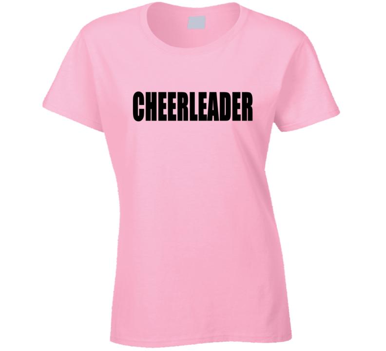 Cheerleader Tee Trendy T Shirt