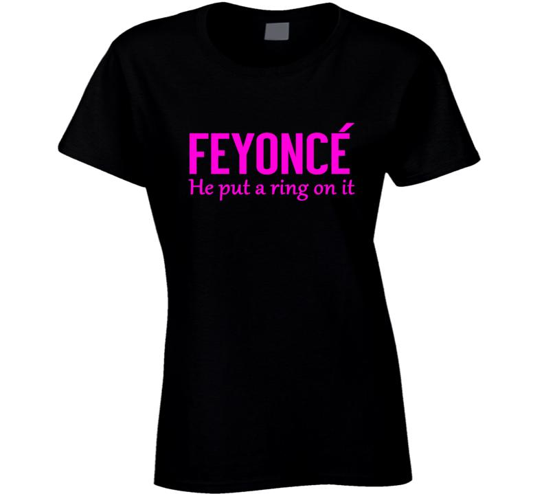 Feyonce Tee Funny Bridal Fiance Engagement Wedding T Shirt