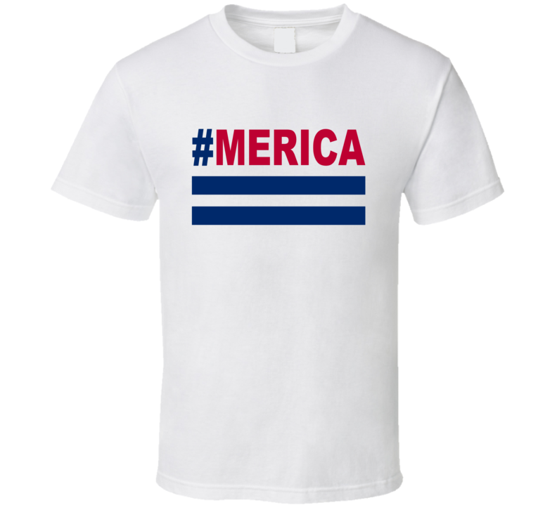 Merica Tee Patriotic American USA 4th of July US T Shirt