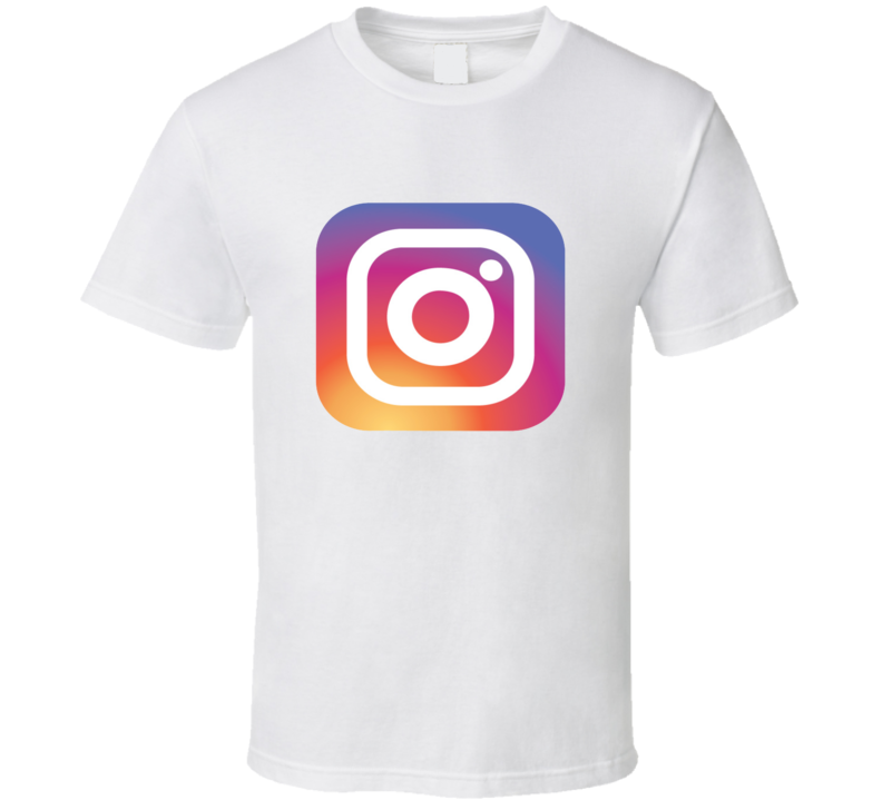 Instagram Tee New Logo App Social Media Halloween Group Family Couples Costume T Shirt
