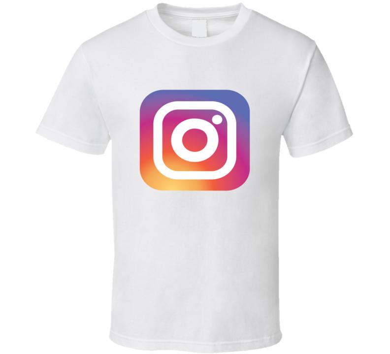 Instagram Tee New Logo App Social Media Halloween Group Family Couples Costume T Shirt
