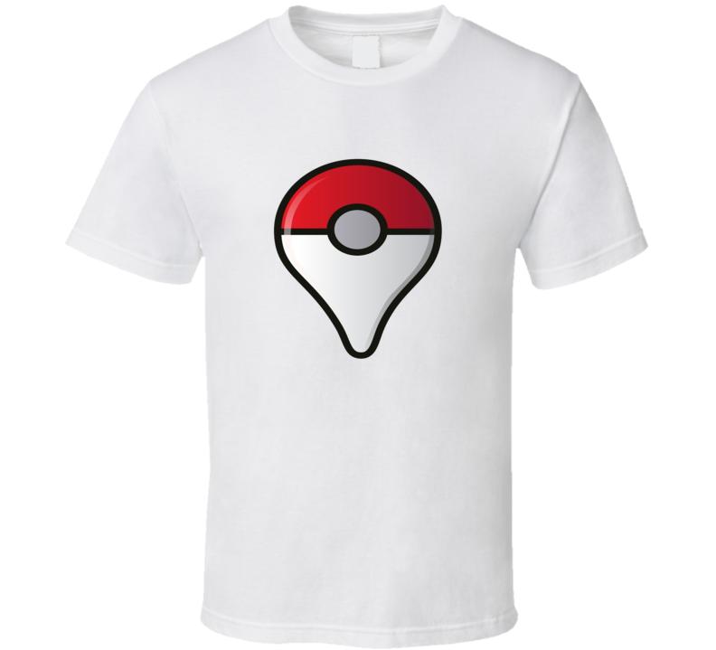 Pokemon Go Symbol Tee Pokemon Hunter Interactive Game App Funny T Shirt