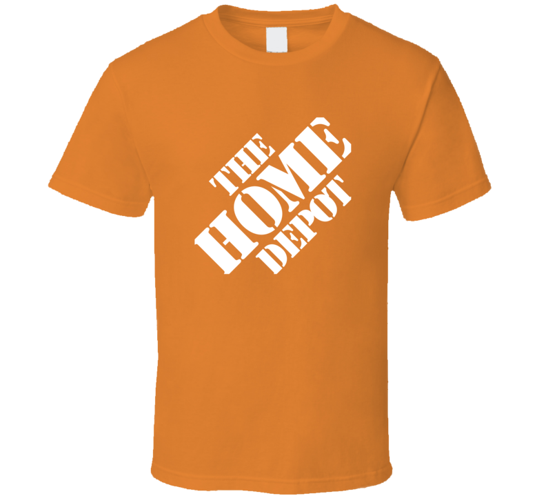 The Home Depot Tee Customer Service Representative Store Cashier Funny Halloween Costume T Shirt