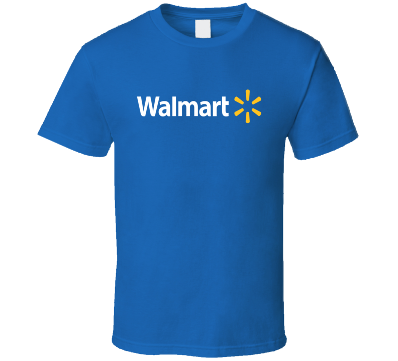Wal-Mart Tee Funny Cashier Worker Walmart People Halloween Costume T Shirt