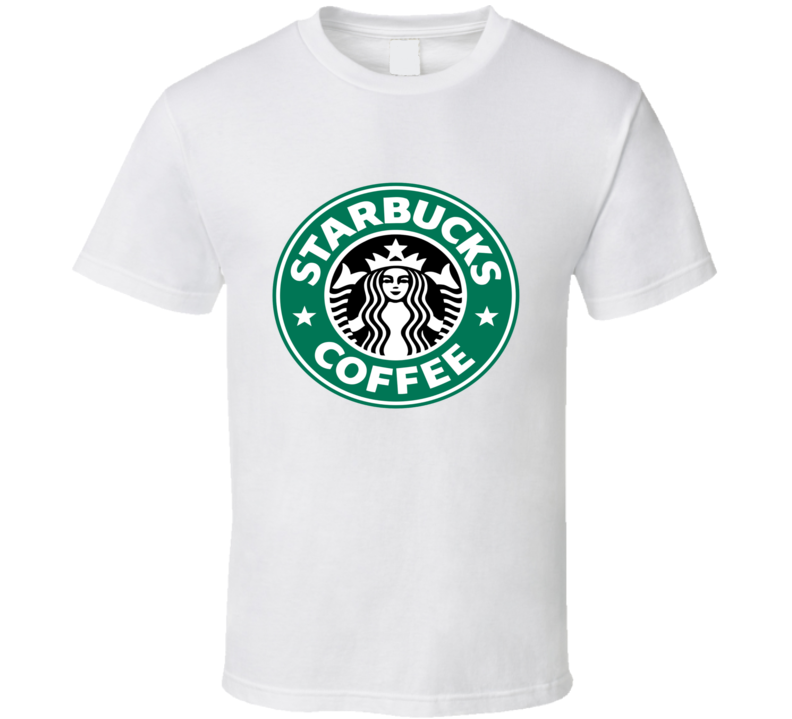 Starbucks Tee Trendy Barista Coffee Funny Halloween Costume T Shirt