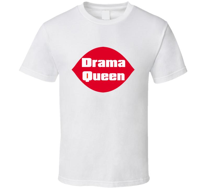 Drama Queen Tee Dairy Queen Funny Parody Halloween Costume T Shirt