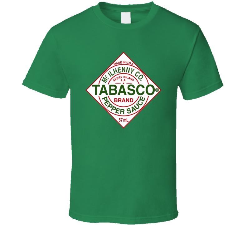 Tabasco Green Pepper Sauce Tee Funny Hot Couples Halloween Costume Duo T Shirt