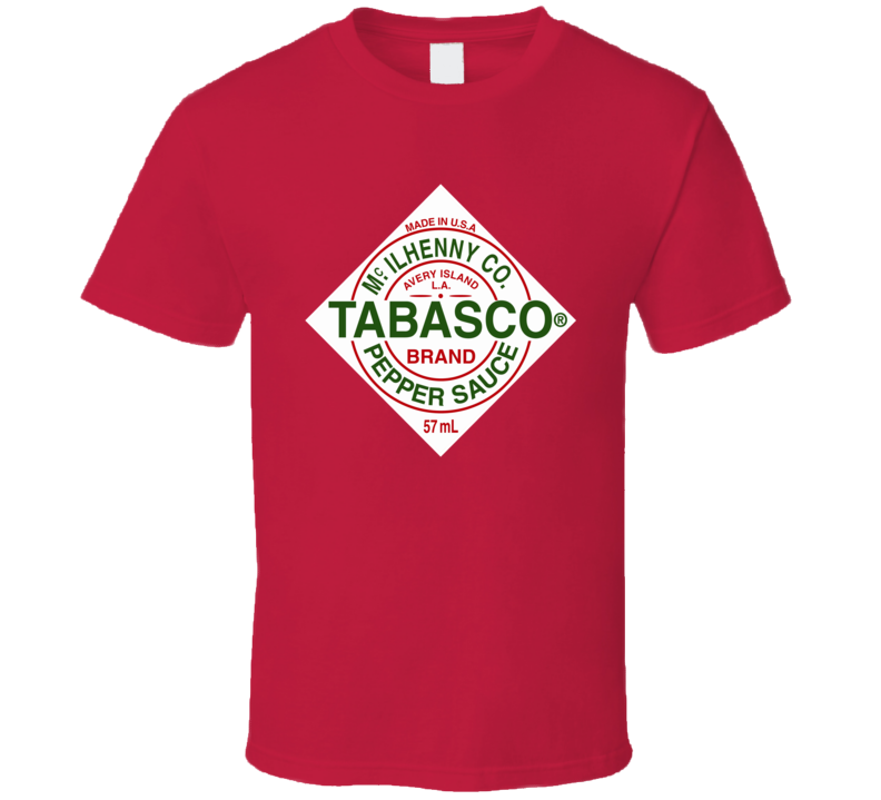 Tabasco Pepper Sauce Red Tee Funny Hot Couples Halloween Costume Duo T Shirt