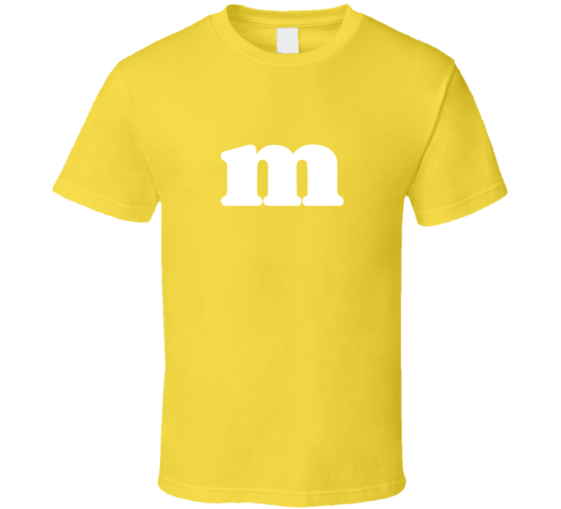 M and M Candy Tee M&M Halloween Group Costume T Shirt