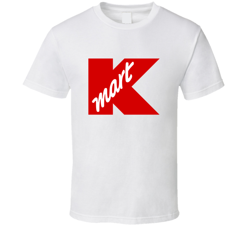 Kmart Tee Funny Department Store Cashier Retro Halloween Costume T Shirt