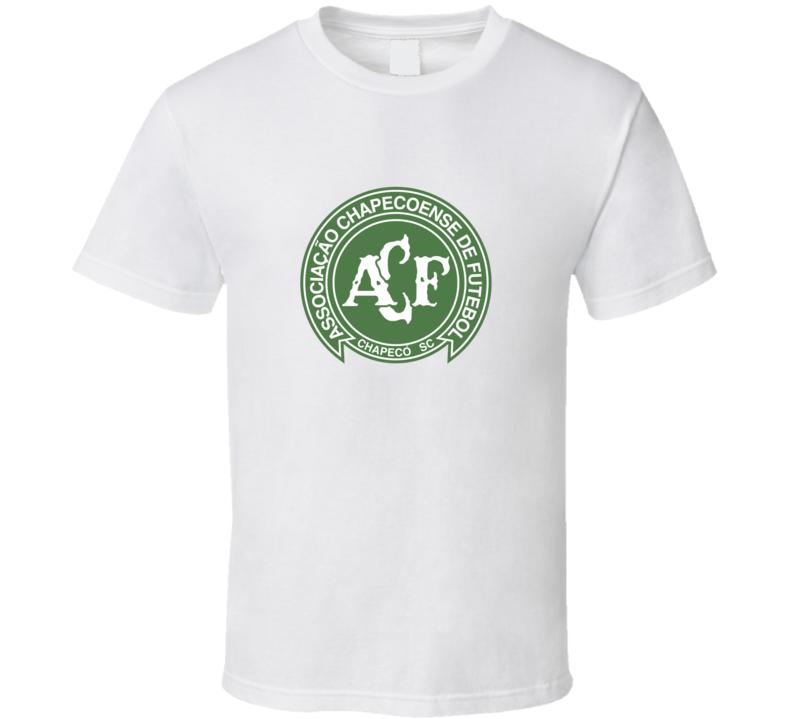 Brazil Chapecoense Football Soccer Logo Sports Club T Shirt