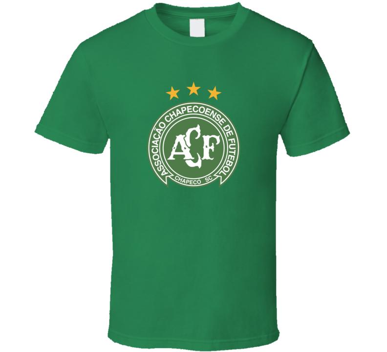 Brazil Chapecoense Football Soccer Logo Tee Sports Club T Shirt