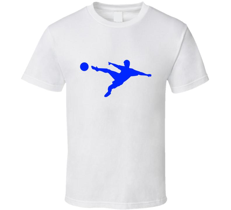 Soccer Tee Trendy Soccer Player Silhouette Trendy Boys T Shirt
