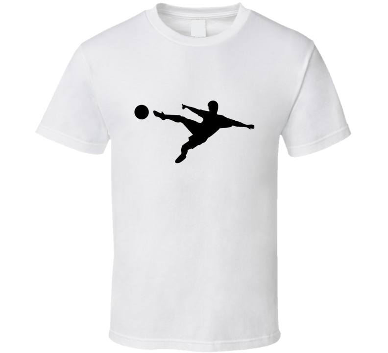 Soccer Tee Trendy Soccer Player Silhouette Trendy Boys T Shirt