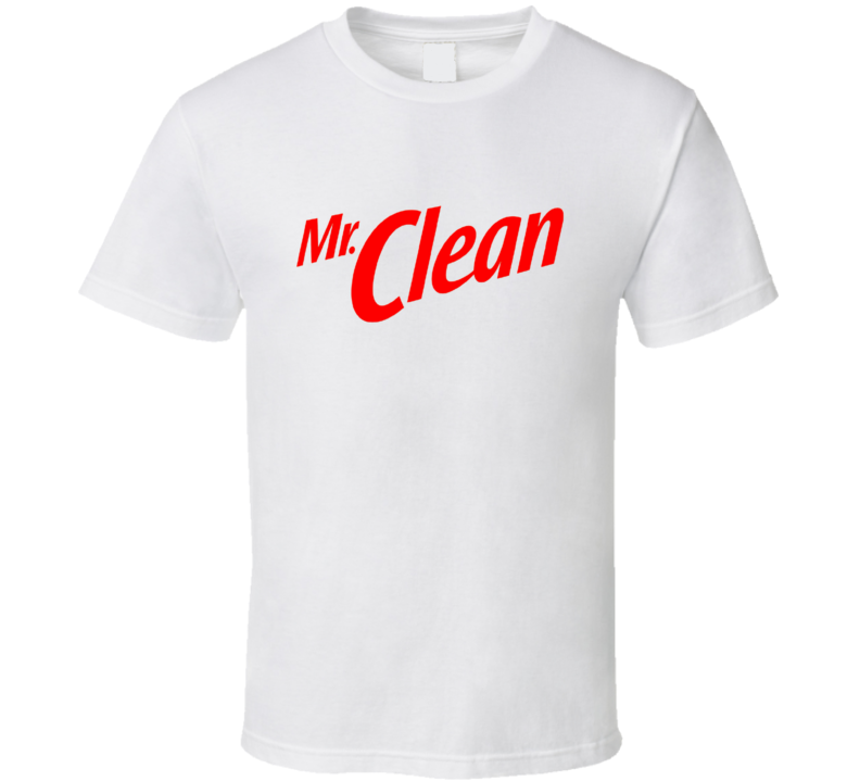 Mr Clean Tee Funny Halloween Costume T Shirt